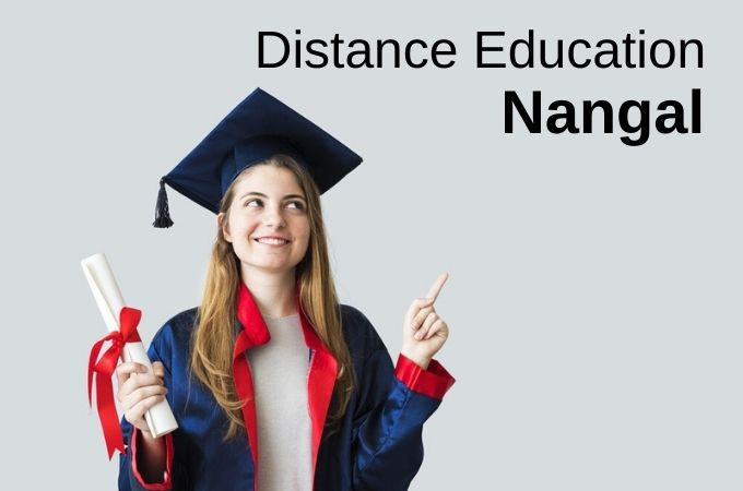 Distance Education in Nangal