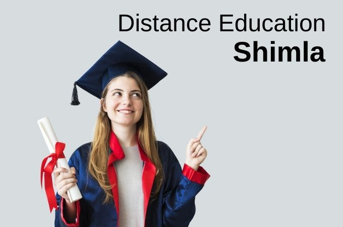 Distance education in Shimla